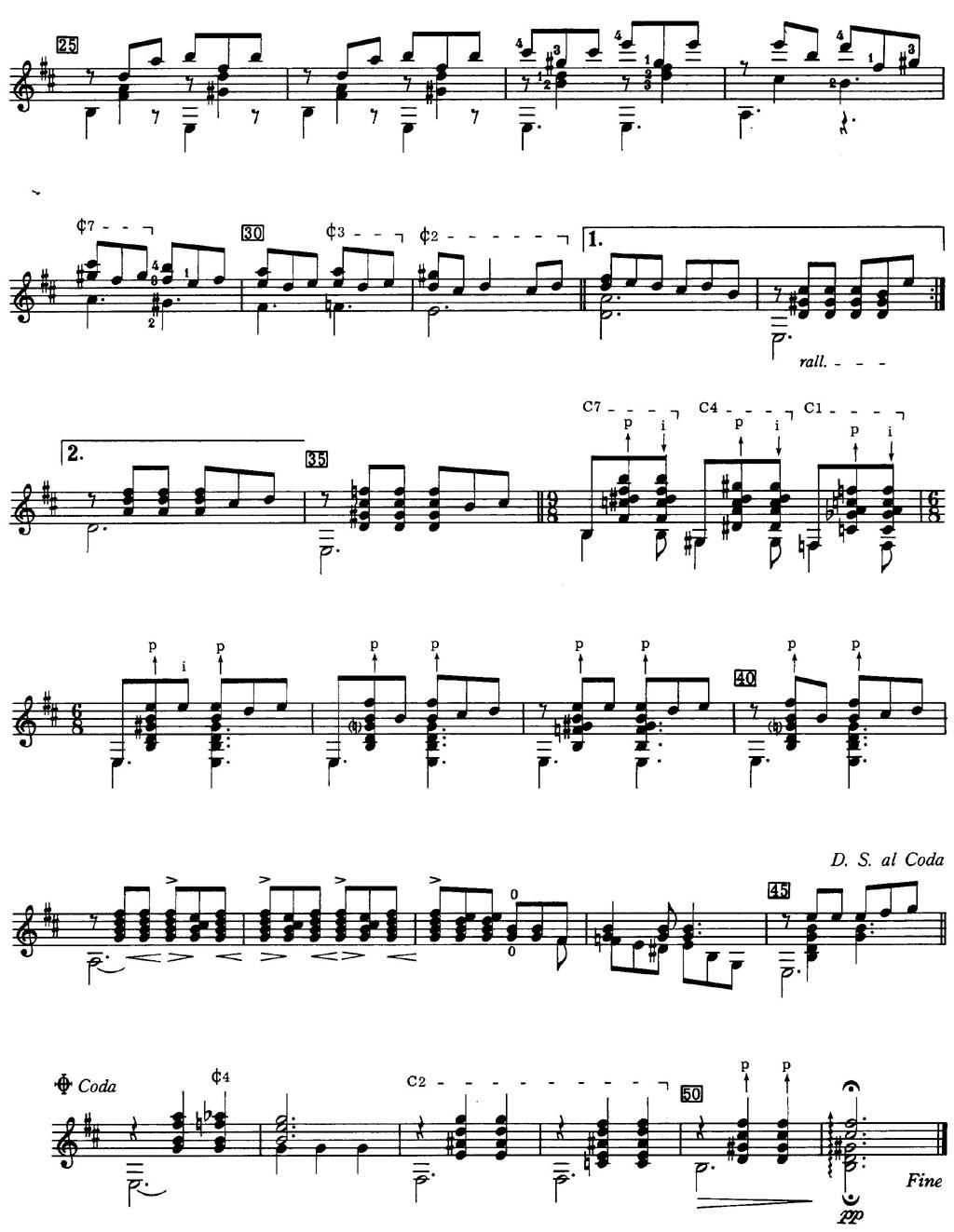 德彪西阿拉伯风钢琴曲谱