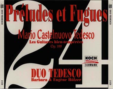 24首前奏曲与赋格,24 Preludes et Fugues(CD2)